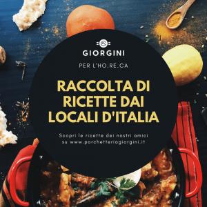 copertina della raccolta di ricette dai locali d'italia